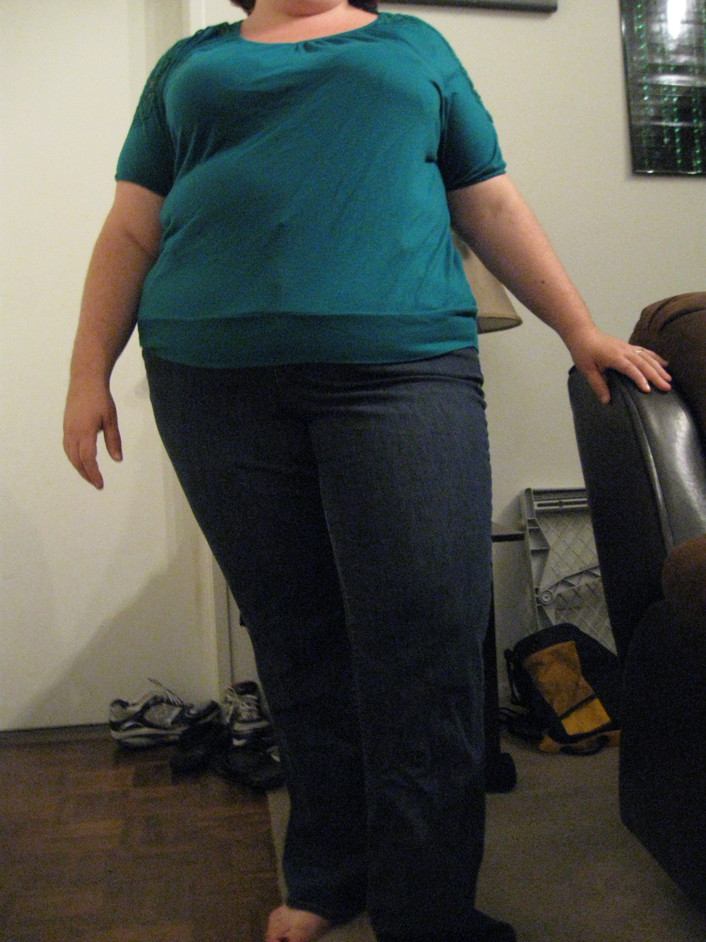 This is me at the beginning of my second month of writing this blog. I am 17 pounds lighter and in a smaller pair of pants.