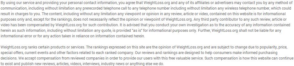 WeightLoss.Org – Weight Loss Program Reviews